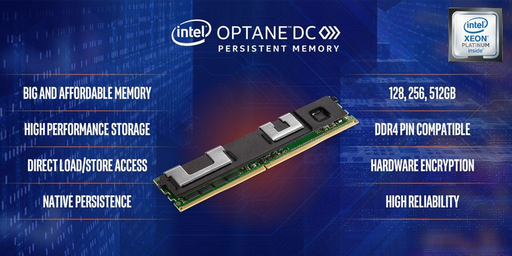 معرفی حافظهای جدید برای بهبود ظرفیت و عملکرد سرورها