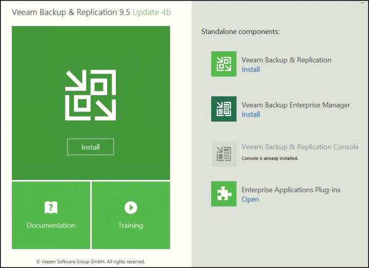 انتشار جدیدترین آپدیت Veeam Backup and Replication 9.5