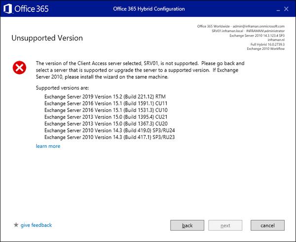 استفاده ازNet Framework . در Microsoft Exchange