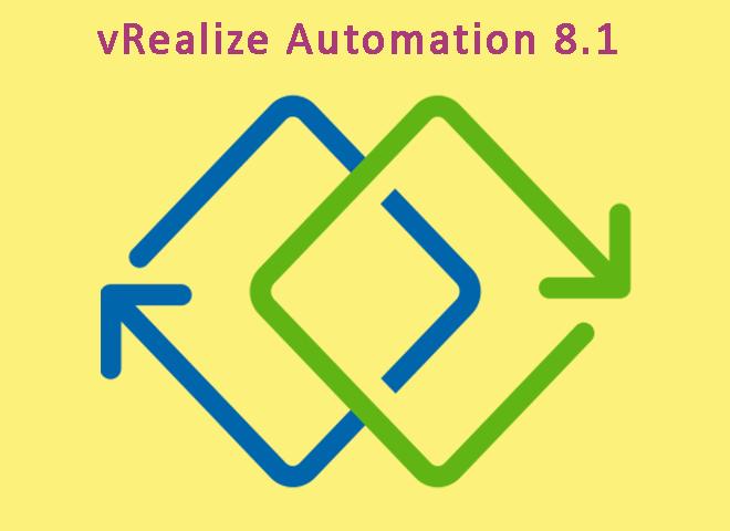 نرمافزار vrealize automation 8.1