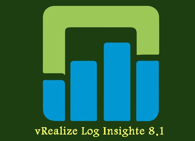 vrealize log insight 8.1