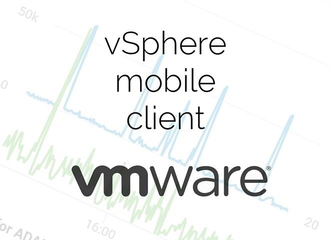 اپلیکیشن vsphere mobile