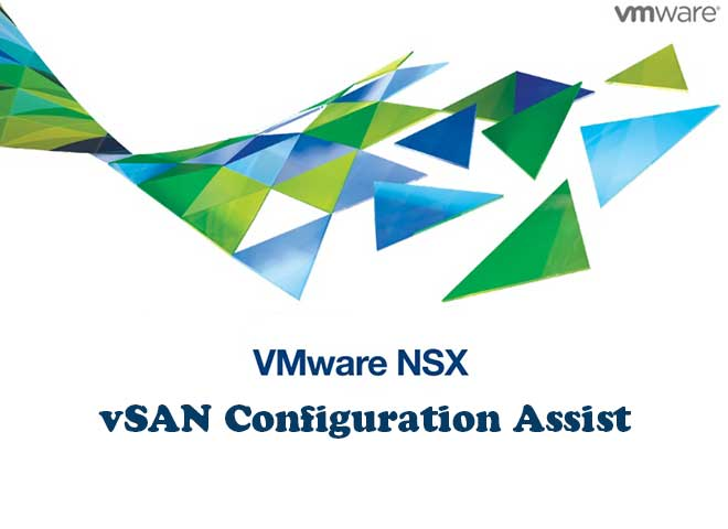 قابلیت vSAN Configuration Assist