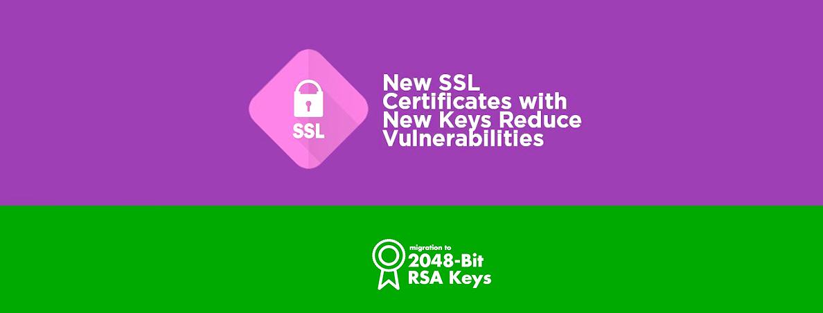 حذف تدریجی Certificate های دارای کلید 1024 بیتی