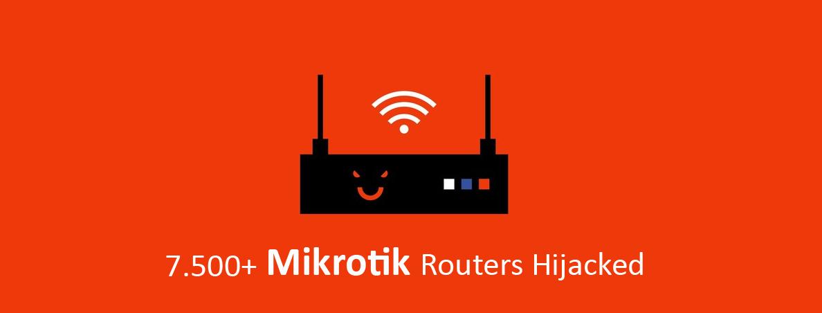 سوء استفادهی هکرها از نقص امنیتی روترهای MikroTik