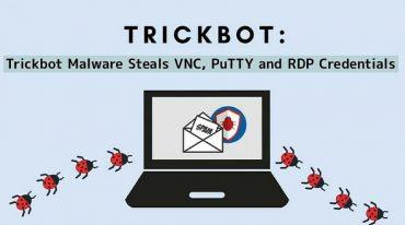 انتشار بدافزار Trickbot برای سرقت اطلاعات VNC، PuTTY و RDP