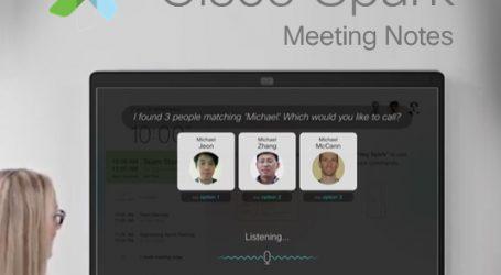 ارائه سرویس هوشمند تشخیص صدا برای ویدیوکنفرانسها توسط سیسکو