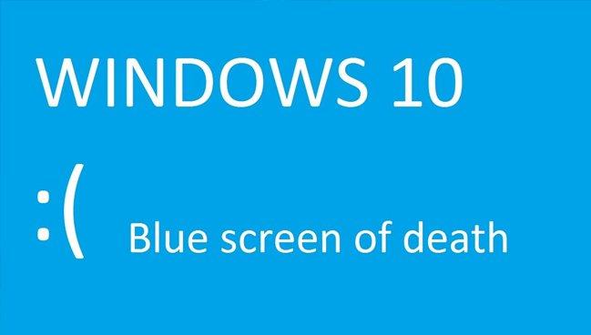 عدم ارائه آپدیت جدید ویندوز10، به دلیل مشکلBSOD