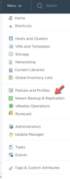بررسی Veeam HTML5 Plugin برای vSphere Client