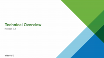 VMware Horizon 7.1 Technical Overview