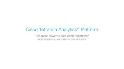 Cisco Tetration Analytics Overview thumbnail