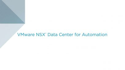 Automation with VMware NSX Data Center_720 thumbnail