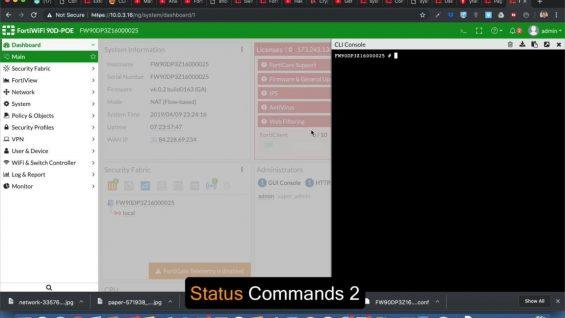 13 – System Status Commands 2 – Fortigate Admin Crash Course-1 thumbnail