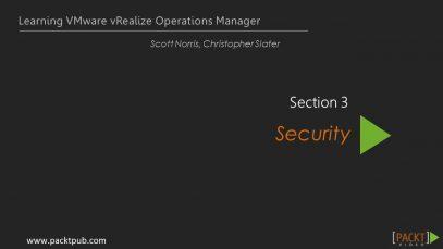 Learning VMware vRealize Operations Manager – Users_720 thumbnail