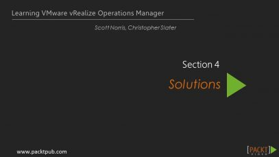 Learning VMware vRealize Operations Manager – What Are Solutions_720 thumbnail