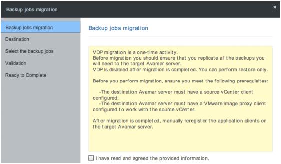 Backup Job Migration