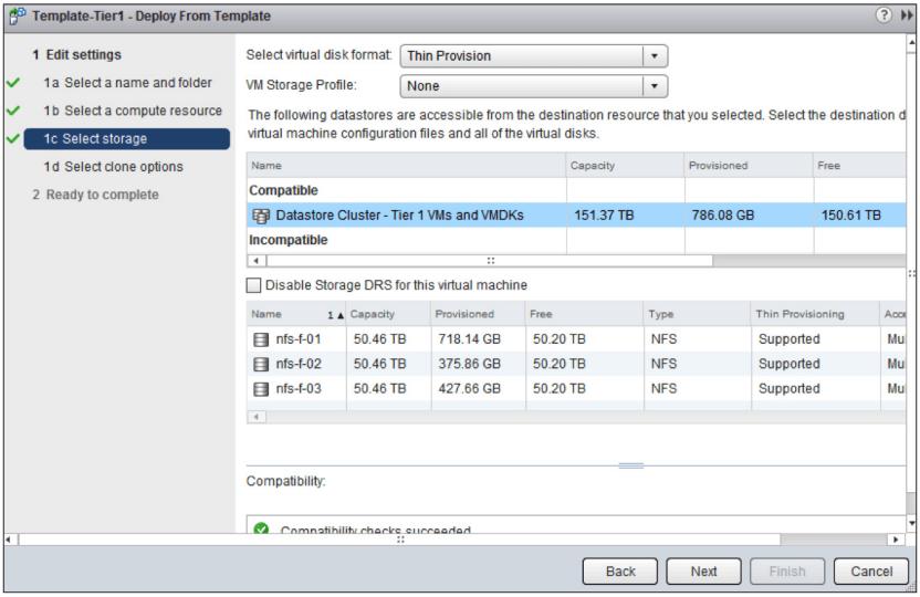 VMware Storage DRS - VMware SDRS