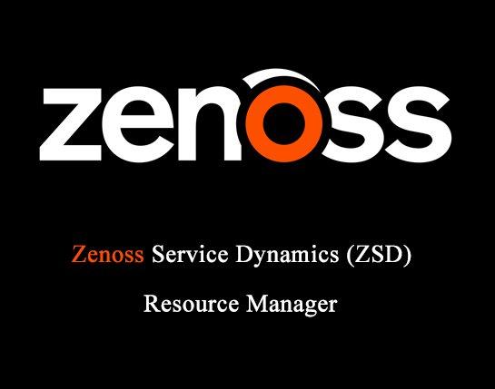 Zenoss-ZSD Resource manager