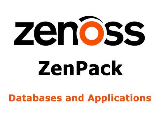 Zenoss ZenPack های پایگاههای داده و برنامهها