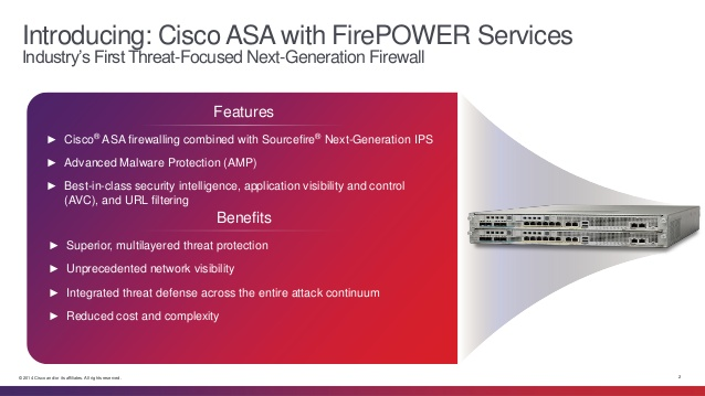 Cisco ASA با سرویسهای FirePower چیست