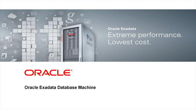 بررسی Oracle Exadata Database Machine