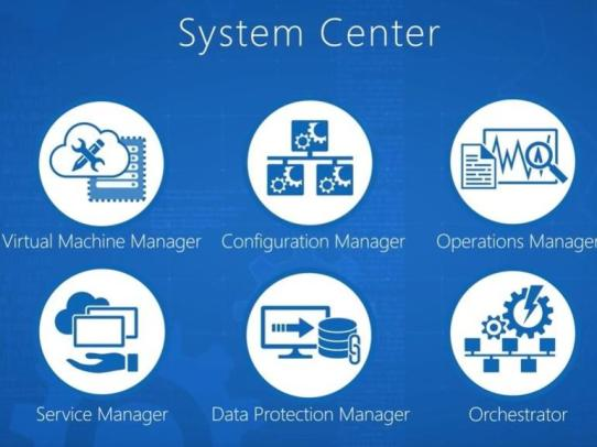ویژگی Microsoft System Center 2016