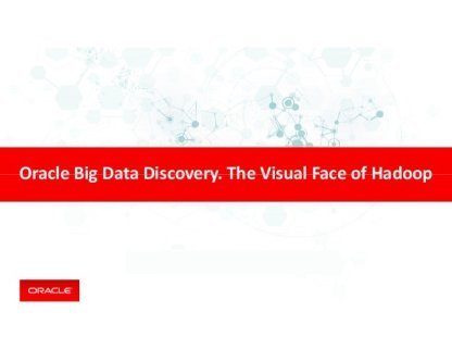 Oracle Big Data Discovery چیست