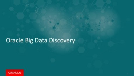 Oracle Big Data Discovery