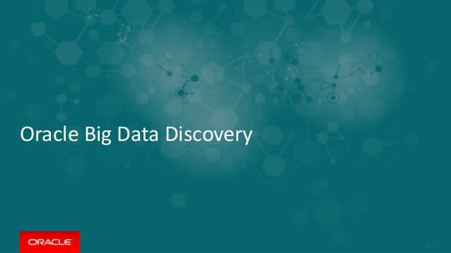 بررسی Oracle Big Data Discovery – قسمت اول