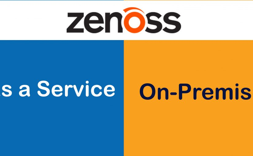 تفاوت بین Zenoss-as-a-Service و Zenoss به صورت On-Premise