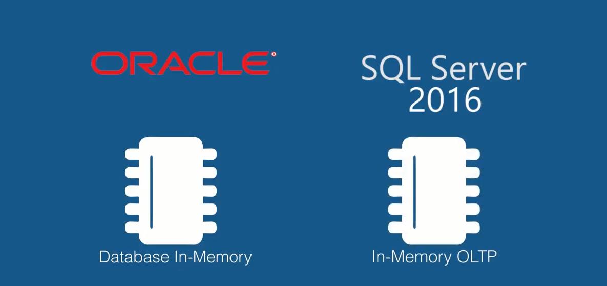 مقایسه تکنولوژیIn-Memory در اوراکل، IBM و SQL Server