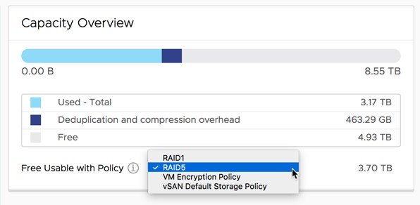 معرفی قابلیت های جدید vSAN 6.7 Update 1