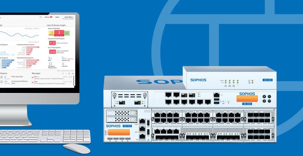 مقایسه قابلیتهای تجهیزات Sophos و Cyberoam