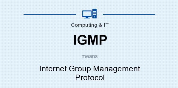 بررسی پروتکل (Internet Group Management Protocol (IGMP