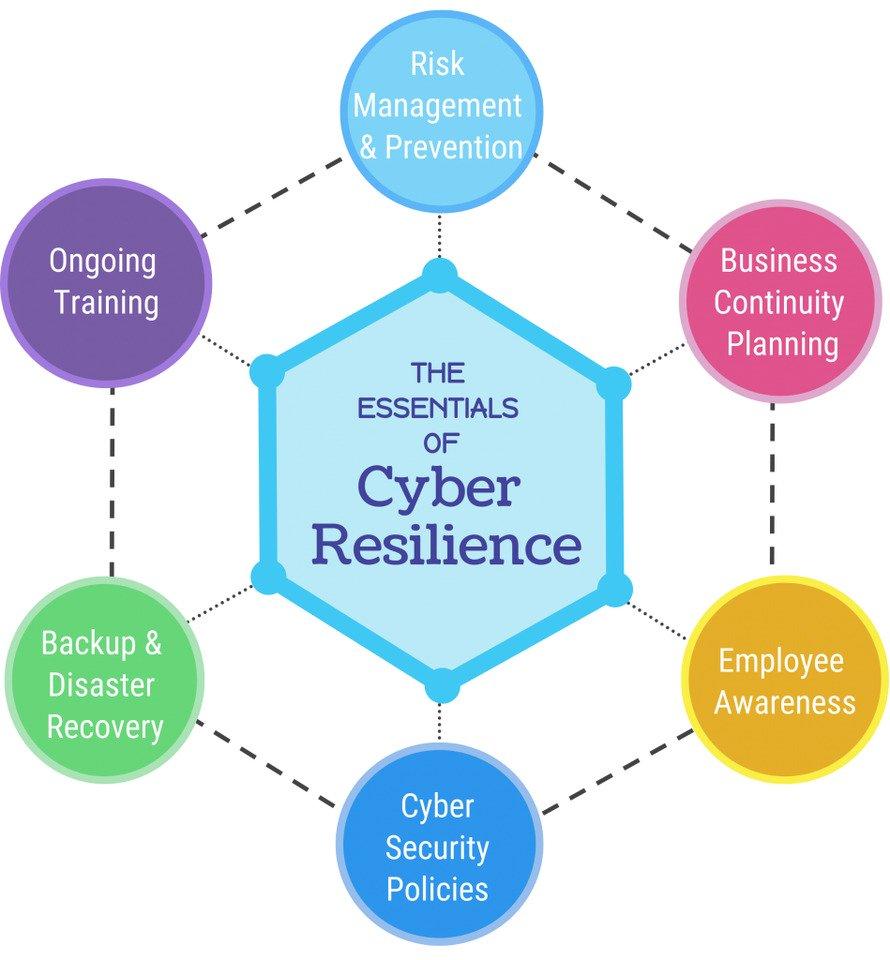 انعطاف پذیری امنیت سایبری