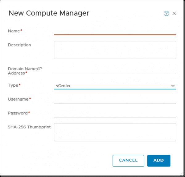 VMware NSX-V