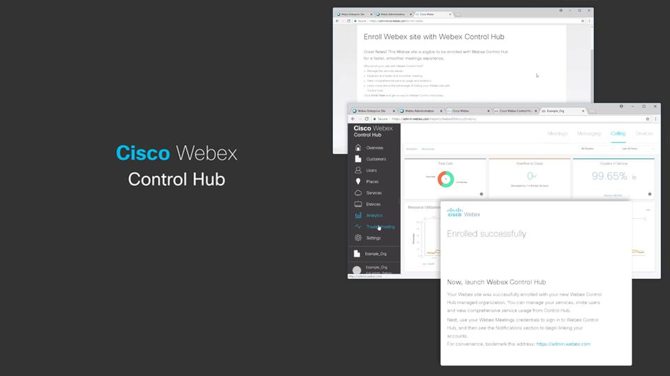 cisco webex control hub چیست