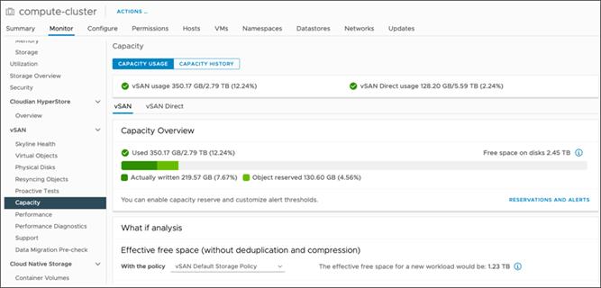 ذخیره سازی  در پلتفرم vSAN-SNA Object Storage