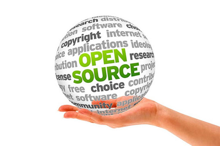 نرم افزار متن باز یا open source
